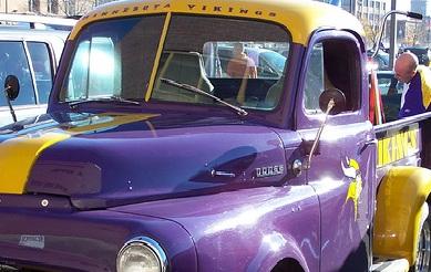 Minnesota Vikings Truck