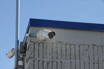 Outdoor security surveillance cameras