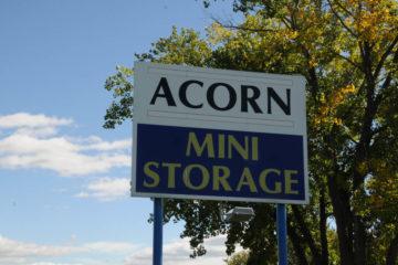 Outdoor sign of Acorn Mini Storage