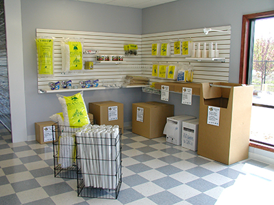 Packing Supplies at the Blaine, Minnesota Location