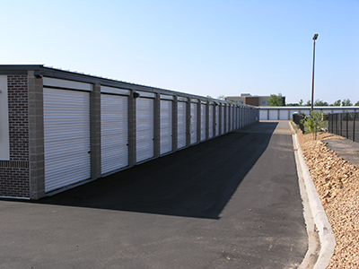 Outdoor Storage Units at Blaine, Minnesota
