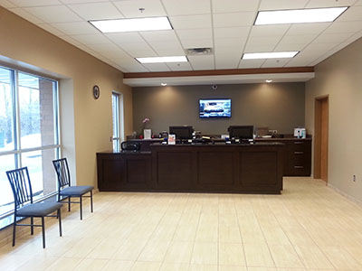 Champlin, Minnesota Location Front Office