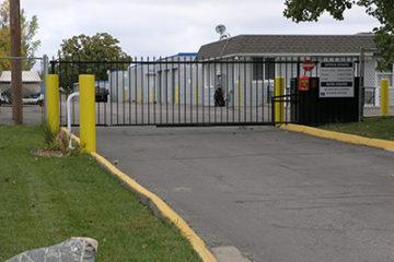 Chaska, Minnesota Location Security Gate