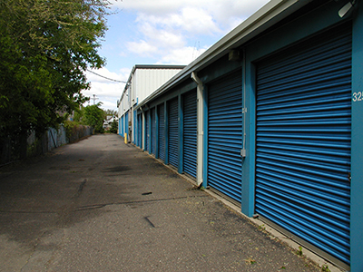 Outdoor Self Storage Units at North Minneapolis Location
