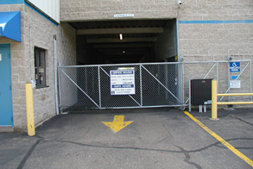Minneapolis Location Security Gate