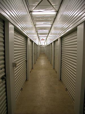 Interior Self Storage Units at the Northeast Minneapolis Location