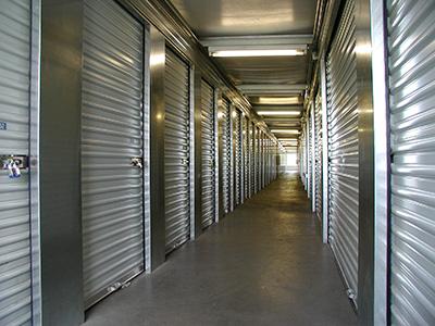 Hallway with Interior Storage Units at the Northeast Minneapolis Location